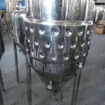 New design jacketed conical fermenter/homebrew fermenter/pressure conical fermenter