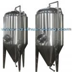 Large jacketed beer fermenter
