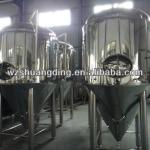 Sainless steel Jacketed Conical fermenter beer fermentation tank