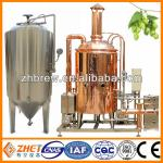 copper beer brewing kettle microbrewery machine-
