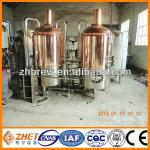 micro red copper hotel beer brewery plants-