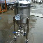 50 litre homebrew stainless conical beer fermenter