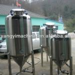 stainless conical micro beer-