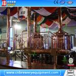 1000L per day capacity red copper micro brewery equipment