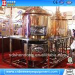 500-1000L copper brewery equipment,beer equipment for restaurant