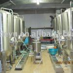 draft beer brewing equipment