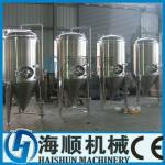 Stainless steel Conical Beer fermentation tank CE certificate