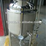 micro beer brewery equipment, three layers beer fermenter-