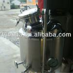 Three layers stainless steel beer fermenter