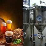 stainless steel homebrew conical beer fermenter