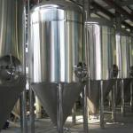 Wen zhou Cooling Water Jacket Conical Fermenter Tank