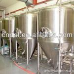 Cooling water jacket Conical Fermenter Tan