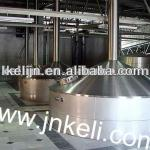 10T per day turnkey beer equipment, large brewery