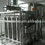 Hollow fiber super filter for mineral water treatment-