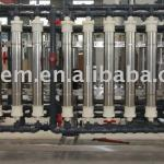 Automatic stainless steel hollow fiber filter system-