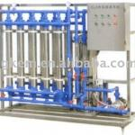 Automatic stainless steel hollow fiber filter-