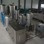 Freezing filter machine-