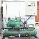 Cooling water tank and chiller