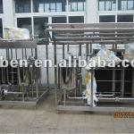 Plate heat exchanger type milk pasteurizer-