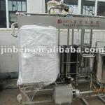 Plate electric milk pasteurizer-