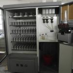 vending machines with heater exchanger-
