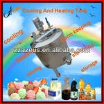 Industrial dimple jacket agitated cooling and heating urn-