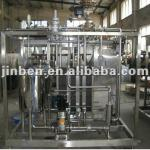 Plate type juice pasteurizer-