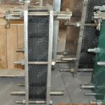 Heat exchanger/wort chiller/plate chiller for brewhouse-