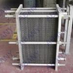 Heat exchanger/wort chiller/cooling chiller for brewhouse-