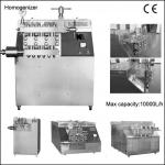 High Pressure Milk Homogenize Machine For Juice/Milk/Tea-
