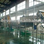 orange juice processing plant-