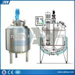 1000L stainless steel Emulsifying stirring mixing tank for shampoo,chemical,juice-