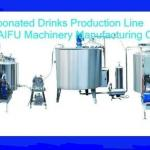 Carbonated Drinks Making Machine(Hot Sale)-