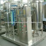 Carbonated beverage CO2 mixer-
