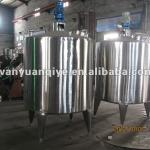 three layer stainless steel heating tank with agitator mixer-