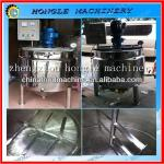 Stainless steel liquid mixing tank with agitator 0086 13283896072-