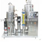 beverage mixer, carbonated drink mixer, CO2 mixer, CO2 mixing machine, carbonation machine, beverage processing machine-