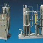 Carbonated drink mixing equipment-