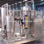 carbonated drinks mixing machine 3 tanks-