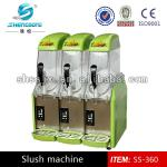 The latest style 3 tank slush machine-