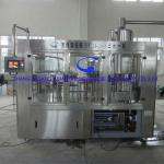Glass bottled Pure water bottling machine-