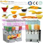 professional slush machine/fully automatic 3 tanks slush machinery0086-18203652053-