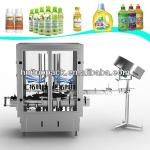 Full automatic bottle cap thread machine washing filling capping machine-