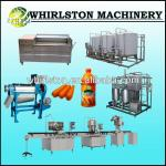 whirlston carrot juice production line-