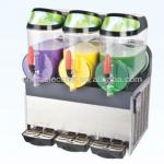 three taps Slush machine for drink with CE approval and electronic control-