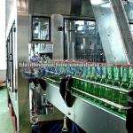 Beer bottle capping machine for metal caps-