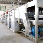 automatic plastic/glass bottle steam sprary sterilizer-