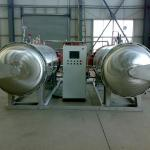 Double Processing Tank Water Immersion Autoclave(Stainless Steel )-