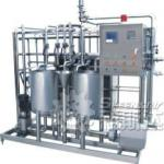 Plate type pasteurizing machine for juice-