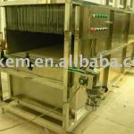Spray sterilization cooling tunnel system-